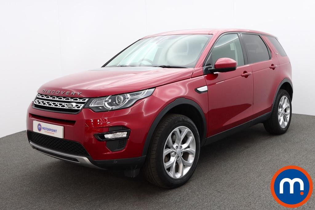 Land Rover Discovery Sport 2.0 TD4 180 HSE 5dr Auto - Stock Number 1214814 Passenger side front corner