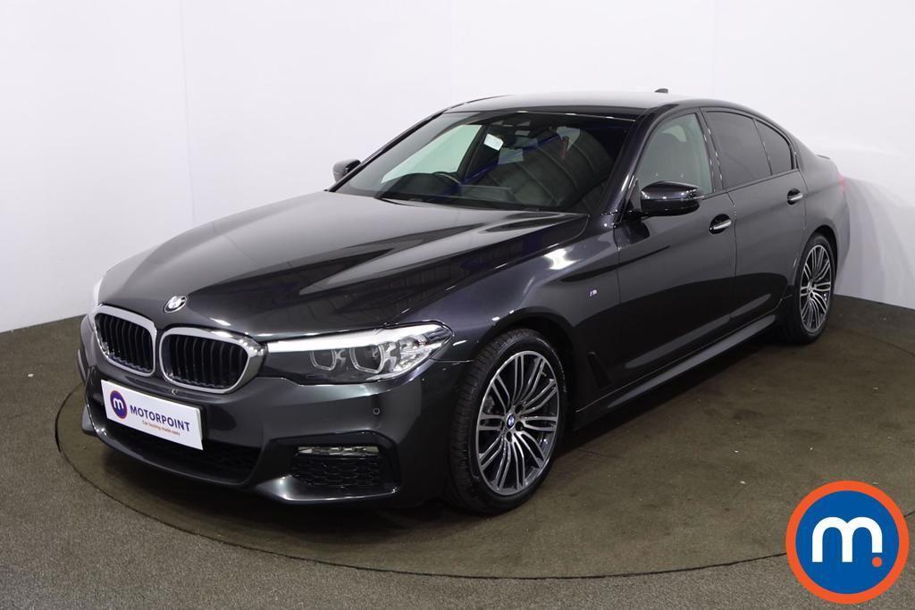 BMW 5 Series 520d xDrive M Sport 4dr Auto - Stock Number 1221490 Passenger side front corner