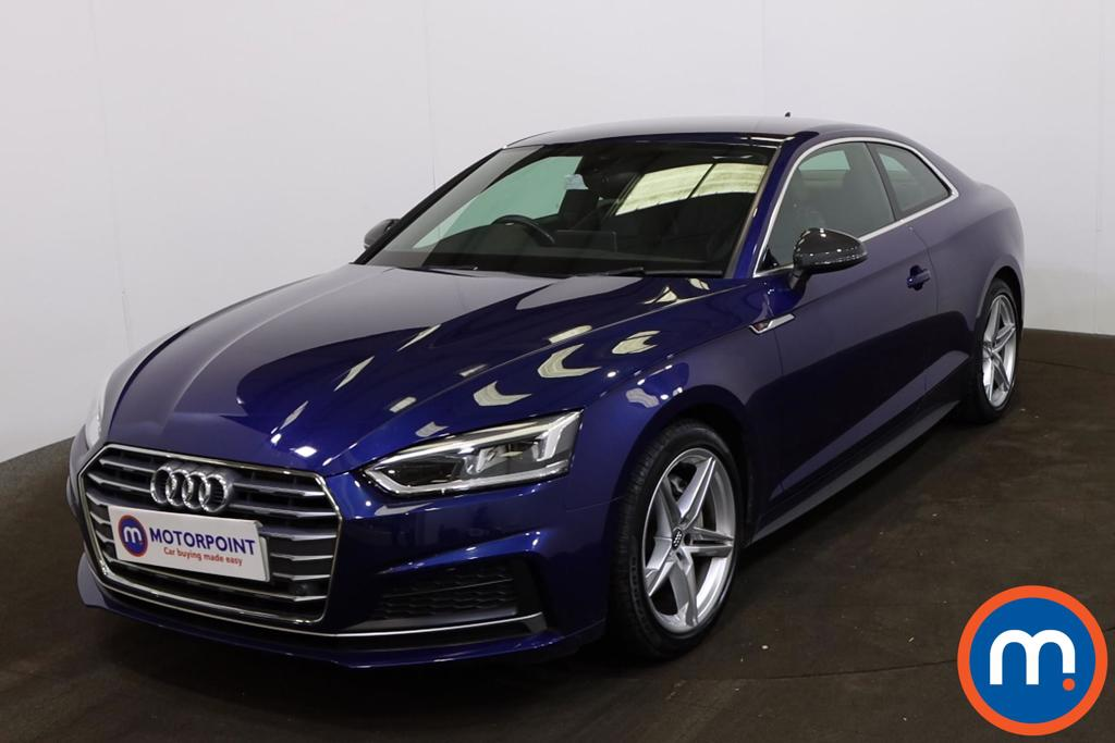 Audi A5 2.0 TDI S Line 2dr S Tronic [Tech Pack] - Stock Number 1227447 Passenger side front corner