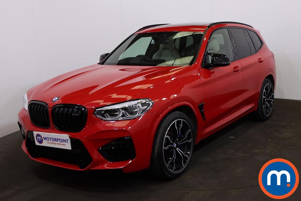 BMW X3 M xDrive X3 M Competition 5dr Step Auto - Stock Number 1228414 Passenger side front corner