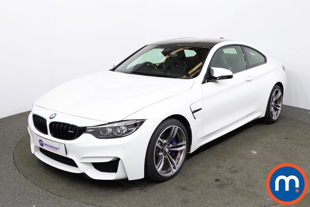 BMW M4 M4 2dr DCT - Stock Number 1230366 Passenger side front corner