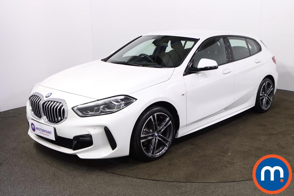 BMW 1 Series 118i M Sport 5dr Step Auto - Stock Number 1228500 Passenger side front corner