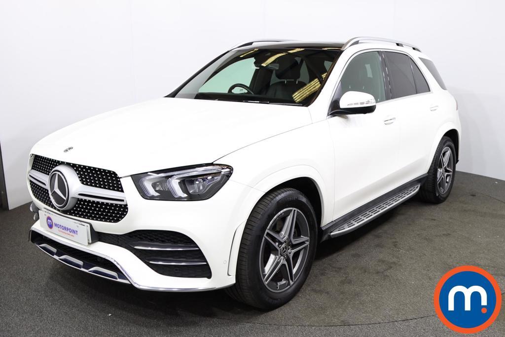 Mercedes-Benz GLE GLE 300d 4Matic AMG Line Prem -Plus 5dr 9G-Tron [7 St] - Stock Number 1230955 Passenger side front corner