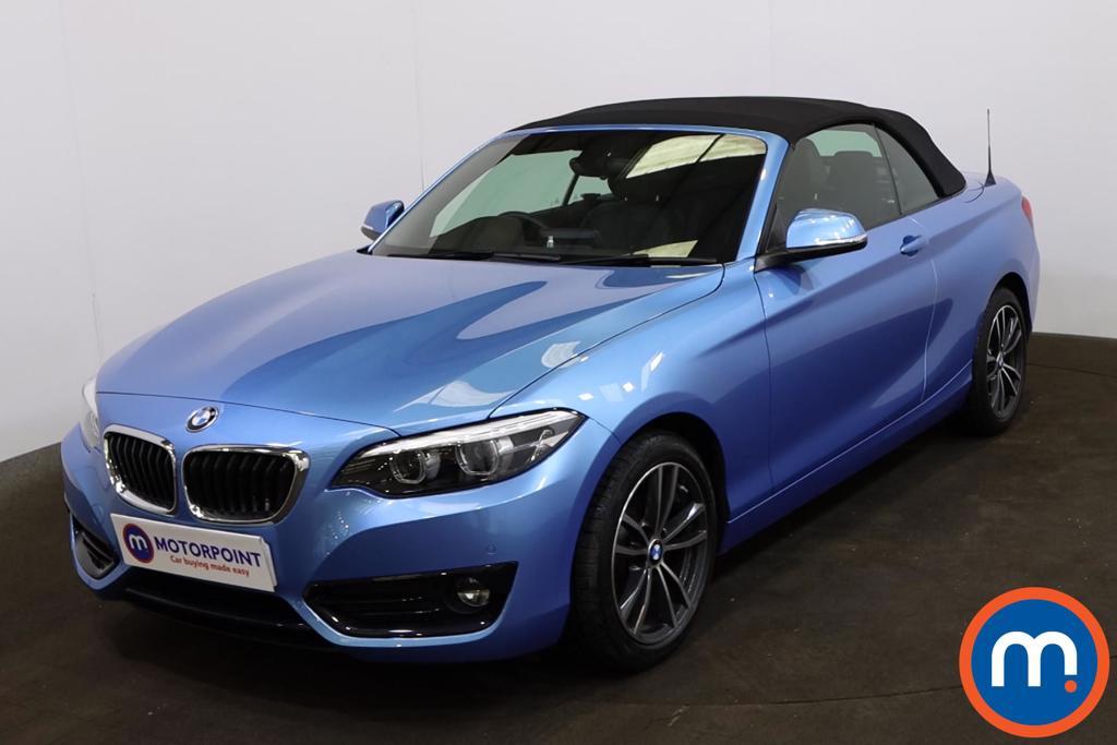 BMW 2 Series 218d Sport 2dr [Nav] Step Auto - Stock Number 1228983 Passenger side front corner